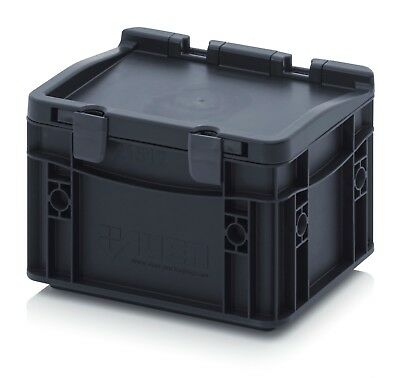 Storage Box/Euro Container Small, Electrically conductive material 2 PACK