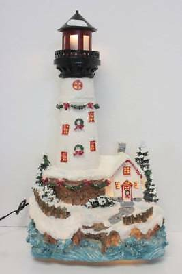 fiber optic christmas light house christmas decorations beacon revolves nautical
