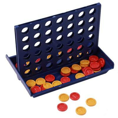 Mini Connect Four In A Row Line Board Game Family Indoor 2 Player NEW LS3