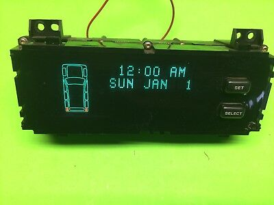 1996-1998 Jeep Grand Cherokee Vic  Driver  Information Display Single Plug Oem