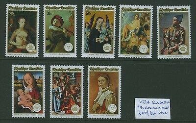 "Rwanda 1974 ""Stockholmia"" Stamp Exhibition set CTO"