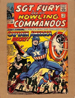 Sgt.Fury and His Howling Commandos # 13 - Army War Adventure Stories! MARVEL