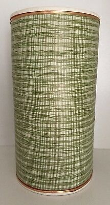 VINTAGE RETRO TALL 29cm ROCKET LAMP LAMPSHADE in VG CONDITION