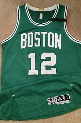 brand new e8f02 3d580 TERRY ROZIER 2017 Game Worn Playoffs Jersey Boston Celtics Photomatched  with LOA