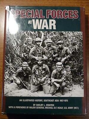Special Forces at War: an Illustrated History, Southeast Asia 1957-1975, HC 1st