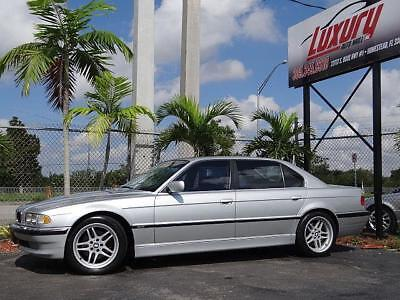 2001 7-Series BMW 7-Series 740iL E38 740 i L 2001 Low Miles! Wow 2001 BMW 740IL * NO RESERVE AUCTION * LOW 85K MILES RUST FREE STUNNING CAR