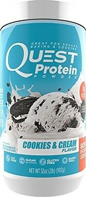 Quest Nutrition 6340058 2 lbs Protein Powder Cookies & Cream
