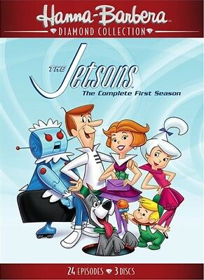 THE JETSONS COMPLETE FIRST SEASON 1 New DVD Hanna-Barbera Diamond Collection