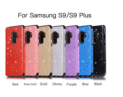 Bling Soft Silicone Case Leather Cover For Samsung Galaxy S9 S8 Plus S7 Edge