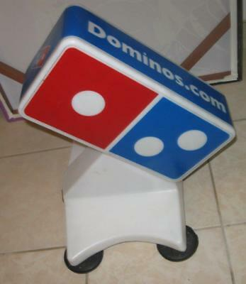 Really Cool Domino's Pizza Car Roof Mount Light Up Delivery Sign Dominos