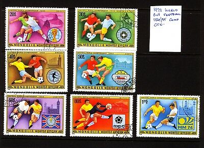 Mongolia 1978 World Cup Football Issues