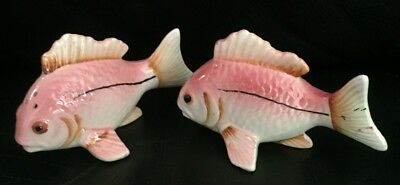 Vintage Retro Cute Tropical Fish Salt & Pepper Exc