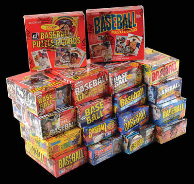 Fire Sale Of Unopened Vintage Baseball Cards From Unopened Packs  Qty. 200