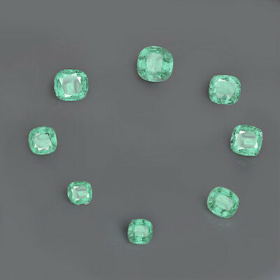 69.1Ct 100% Natural Muzo Colombian Emerald Collection CMDx1