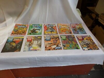 Job Lot Off 10 Early  2000 Ad Featuring Judge Dredd Comics 551 To 560