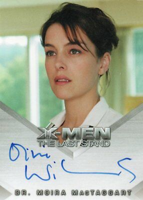 X-Men The Last Stand Movie, Olivia Williams (Moira MacTaggart) Autograph card