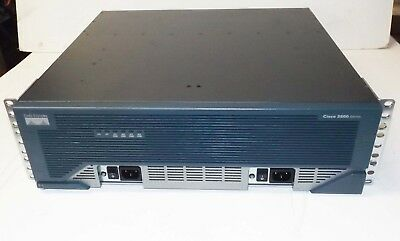 Cisco 3845 Router  HWIC-4ESW 2x VWIC2-2MFT-T1/E1 2 x PVDM2-64 AIM-VPN/HPII-PLUS
