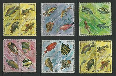 y5609 Africa - Burundi / A Small Collection Early & Modern Used
