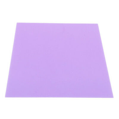 PVC Colorful  A4 Acetate Sheets Transparent Gel Clear Craft DIY Plastic Film CB