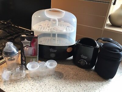 Tommee Tippee Electric Steam Steriliser Set