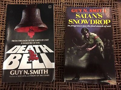 Rare Paperbacks GUY N.SMITH Two Early Books ** Lovely Examples
