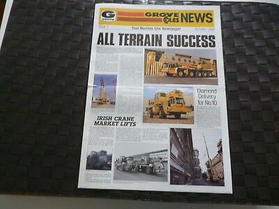 Grove Coles News Issue 7 Crane Newspaper Autumn 1986 *As Pictures*