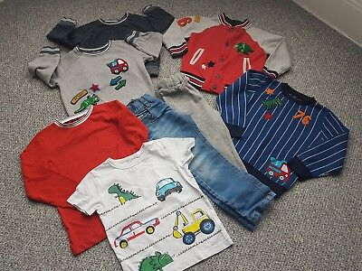 Boys Next Dino Digger Autumn Winter Bundle 2-3 Years