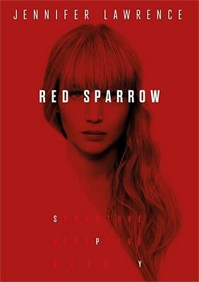 Red Sparrow (DVD, 2018)