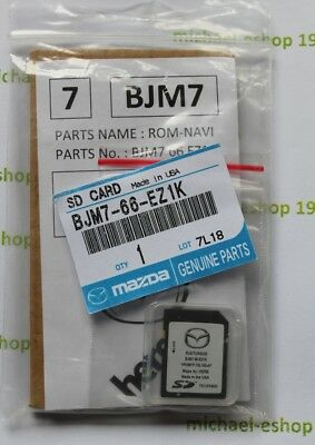 NEU !!! Mazda SD Karte Here MZD Connect Navigation EU  BJM7 66 EZ1K 2018/19