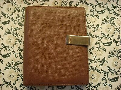 A Beautiful Authentic PRADA; Luxury Saffiano Leather: Bifold Coin Purse & Wallet