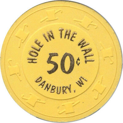 Hole in The Wall Casino - 50c Casino Chip