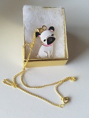 Chinese Pug Dog Necklace