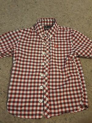 Boy's Fred Perry shirt age 4-5 years