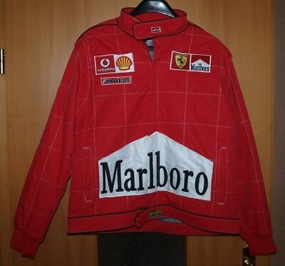 FORMEL 1 - JACKE - M. Schumacher - Gr L - Patches - Marlboro - Shell -