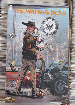 The Walking Dead #1 15th Anniversary All Heroes exclusive variant Image Comics