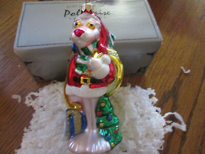 Polonaise Pink Panther  Christmas Ornament SIGNED