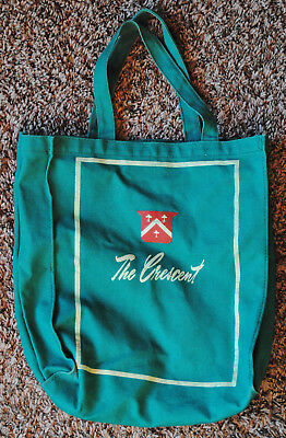 Vintage The Crescent Spokane WA Department Store Canvas Shopping Bag