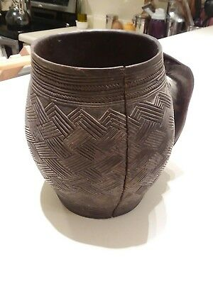 Kuba cup, antique from Africa