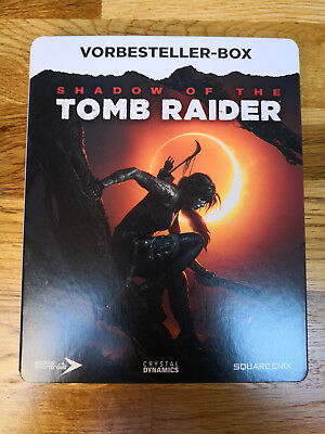 Shadow Of The Tomb Raider Vorbesteller-Box (Steelbook inkl. 3 Artcards)