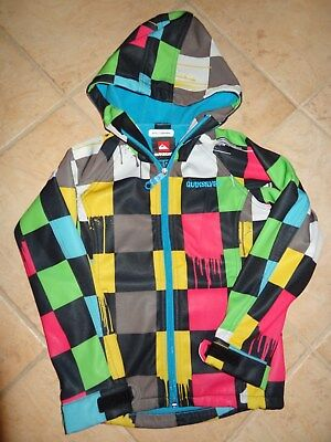 Veste Quiksilver Softshell Taille 8 Ans Tbe