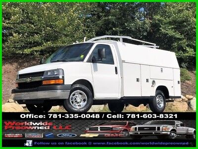 2008 Chevrolet Express Enclosed Utility Van 2008 Chevrolet Express Cutaway Enclosed Utility Van Service Truck 6.0L Gas Chevy