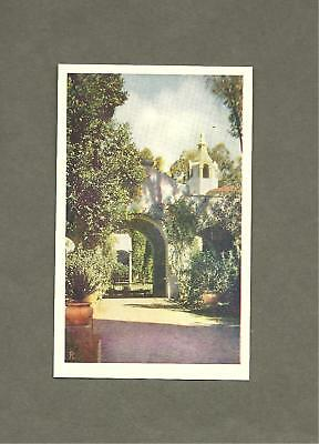 America's Exposition 1935 Palace of Photography Patio San Diego Balboa Postcard