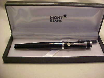 VINTAGE Montblanc Fountain Pen  Pearl on end of pocket clip