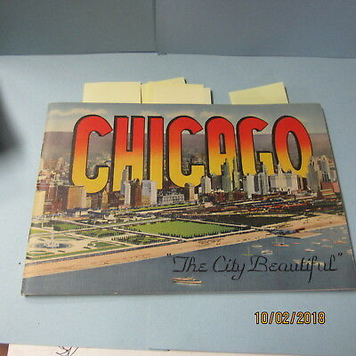 Vyg, Brochure Showing The Great City Of Chicago