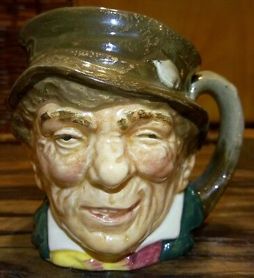 "Vintage 1950's Royal Doulton Toby Character Mug "" The Paddy"" No #"