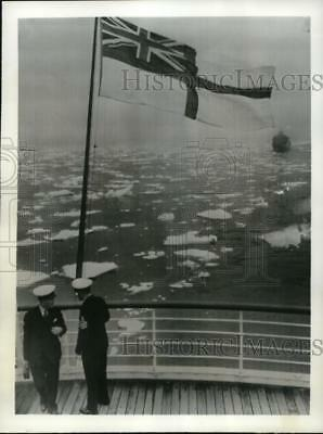 1939 Press Photo View from the stern of S.S. Empress of Australia