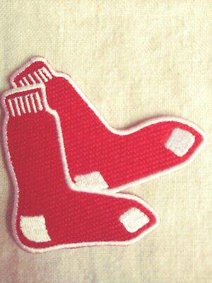 """BOSTON RED SOX """"Stocking"""" Patch,  NEW, FREE Shipping USA"""