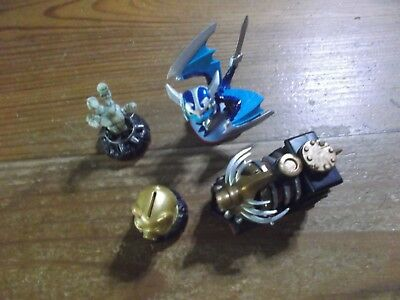 Skylanders Trap Team  * Nightmare Express Set With Blades *used*5 Day*