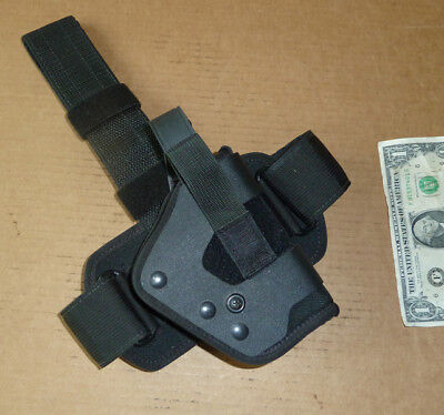 Uncle Mikes Side Kick Gun Holster,Drop Leg,R/h,Brit.Military Use,Glock,Smith &W