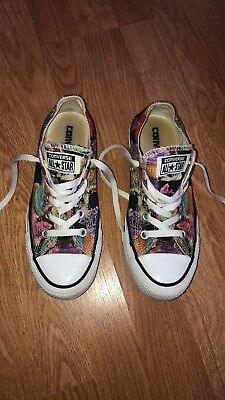 f3a67f77c9c7f5 Converse Chuck Taylor All Star Cupcake Print Women s Size 6 Sneakers